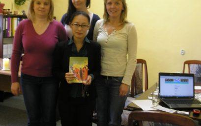 Dňa 12.3.2013 navštívila našu organizáciu Dr. Yuko KAMBARA-YAMANE