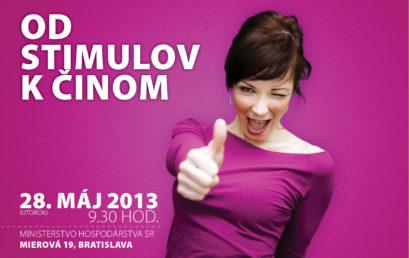 Od stimulov k činom – konferencia