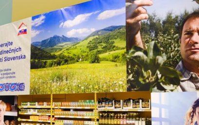 500 produktov od lokálnych dodávateľov potravín vo obchodnej sieti