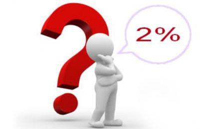 2% z dane na podporu aktivít