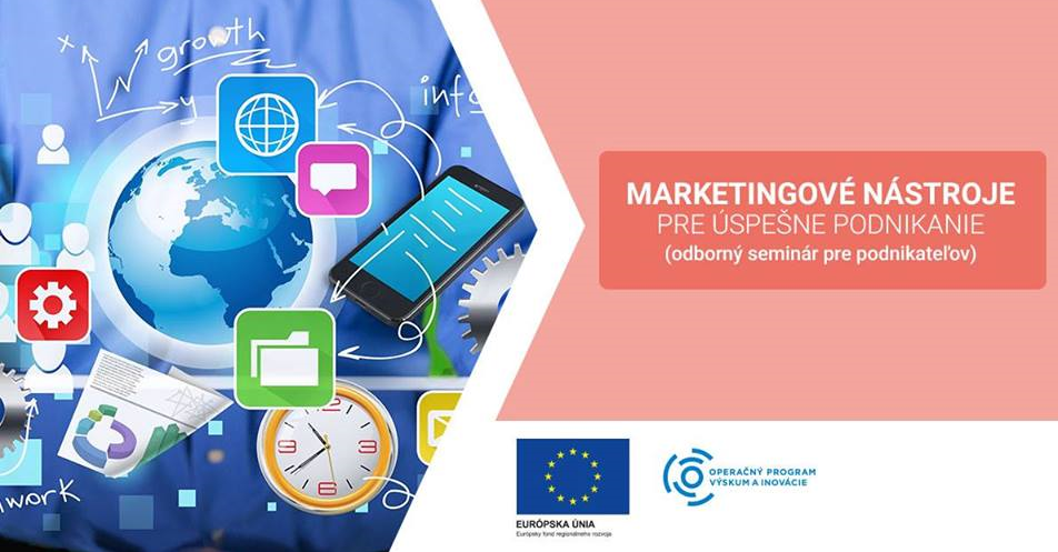 Kurz Marketingové nástroje – vzdelávanie ZADARMO